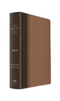 The Jeremiah Study Bible, NIV: (Brown W/ Burnished Edges) Leatherluxe(r) W/Thumb Index: What It Says. What It Means. What It Means for You.89.99