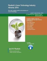 Plunkett's Green Technology Industry Almanac 2016