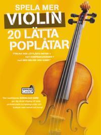 Spela mer violin - 20 lätta poplåtar -  pdf epub