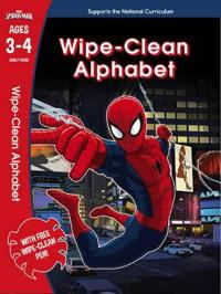 Spider-Man: Wipe-Clean Alphabet Ages 3-4