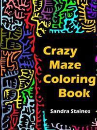 Crazy Maze Coloring Book