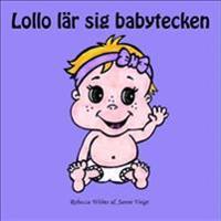 Lollo lär sig babytecken : en pekbok med babytecken