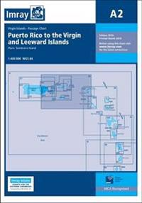 Imray chart a2 - puerto rico to the virgin and leeward islands