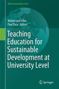 Teaching Education for Sustainable Development at University Level