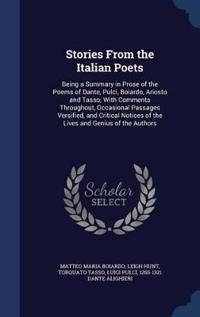 Stories from the Italian Poets