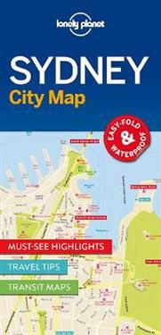 Lonely Planet City Map Sydney