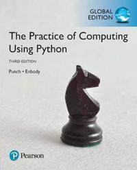 The Practice of Computing Using Python, Global Edition