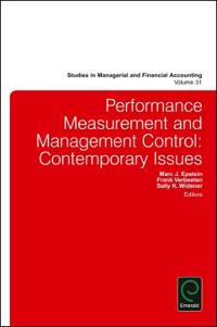 Performance Measurement and Management Control: Contemporary Issues