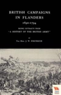 British Campaigns in Flanders 1690-1794