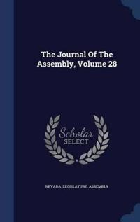 The Journal of the Assembly; Volume 28