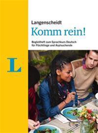 Langenscheidt Komm rein! - Paket mit 10 Begleitheften zum Sprachkurs Deutsch für Flüchtlinge und Asylsuchende