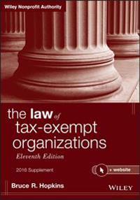 Law of Tax-Exempt Organizations, 2016 Supplement