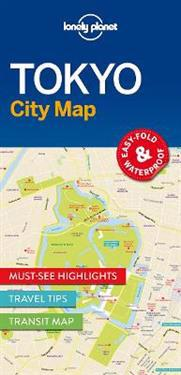 Lonely Planet Tokyo City Map