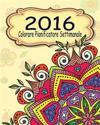 2016 Colorare Pianificatore Settimanale