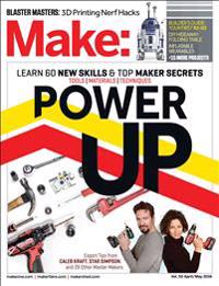 Make, Volume 50: Power Up