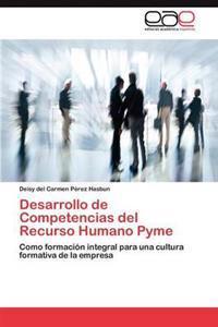 Desarrollo de Competencias del Recurso Humano Pyme