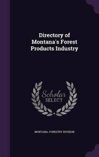 Directory of Montana's Forest Products Industry