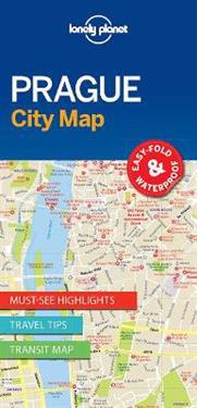 Lonely Planet City Map Prague