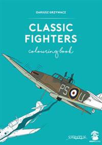 Classic Fighters Colouring Book