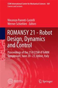 ROMANSY 21 - Robot Design, Dynamics and Control