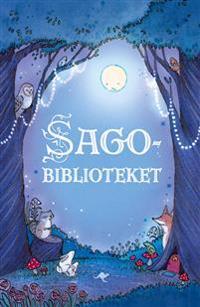 Sagobiblioteket : en förtrollande samling av fem klassiska sagor