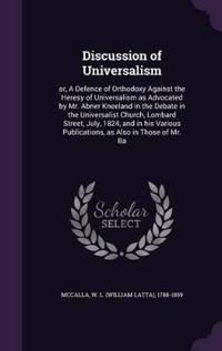 Discussion of Universalism
