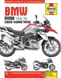 Haynes BMW R1200 '13 to '16 Liquid-Cooled Twins Service and Repair Manual