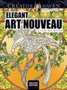 Elegant Art Nouveau Coloring Book