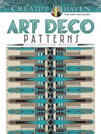 Art Deco Patterns Coloring Book