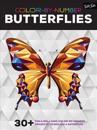 Color-By-Number: Butterflies: 30+ Fun & Relaxing Color-By-Number Projects to Engage & Entertain
