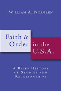 Faith and Order in the U.S.A.