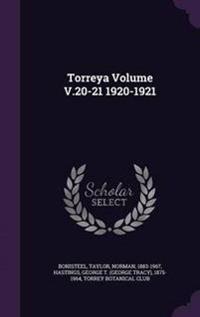 Torreya Volume V.20-21 1920-1921
