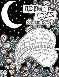 Midnight Forest Coloring Book