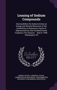 Leasing of Sodium Compounds