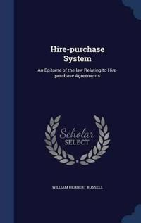 Hire-Purchase System