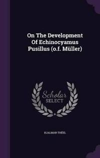 On the Development of Echinocyamus Pusillus (O.F. Muller)