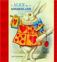 Alice in Wonderland 2017 Calendar