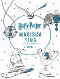Harry Potter Magiska ting Målarbok