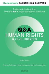 Concentrate questions and answers human rights and civil liberties - law q&