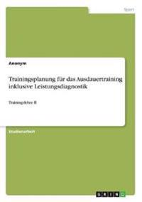Trainingsplanung Fur Das Ausdauertraining Inklusive Leistungsdiagnostik