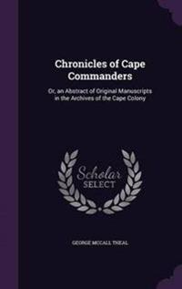 Chronicles of Cape Commanders