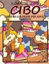 Cibo Libro Da Colorare Per Adulti ( in Caraterri Grandi )