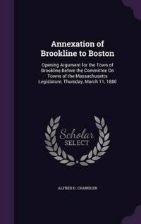 Annexation of Brookline to Boston