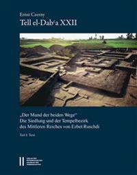 Tell El-Daba XXII - 'Der Mund Der Beiden Wege': Die Siedlung Und Der Tempelbezirk Des Mittleren Reiches Von Ezbet Ruschdi