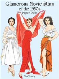 Glamorous movie stars of the fifties paper dolls