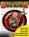Blank Guitar Tablature Notebook: Six-String Guitar Tab Manuscript Paper