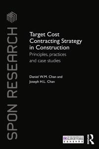Target Cost Contracting Strategy in Construction