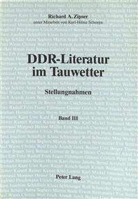 Ddr Literature