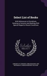Select List of Books