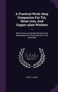 A Practical Work-Shop Companion for Tin, Sheet-Iron, and Copper-Plate Workers ...